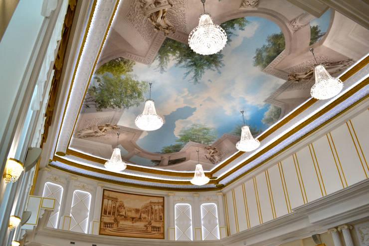 Потолок . Фреска:  в . Автор – InsaitDesign