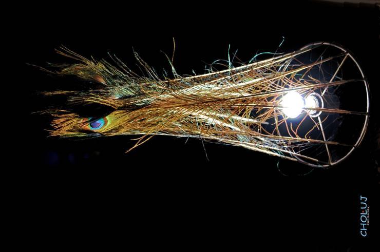 LAMPA1: styl , w kategorii Salon zaprojektowany przez CHOLUJ DESIGN s.c.    / ROKKI design