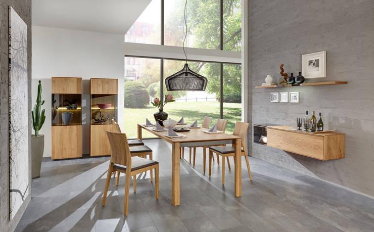 TERSO – Moderner Lifestyle ohne Kompromisse.:  Esszimmer von Wimmer Wohnkollektionen GmbH