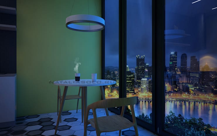 Городской минимализм: Кухни в . Автор – Natalia Solo Design