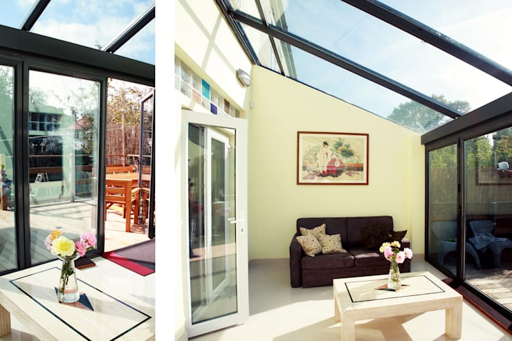 Golders Green, Barnet NW11, London | House extension:  Conservatory by GOAStudio | London residential architecture