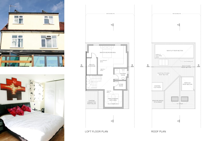 Golders Green, Barnet NW11, London | House extension:   by GOAStudio | London residential architecture