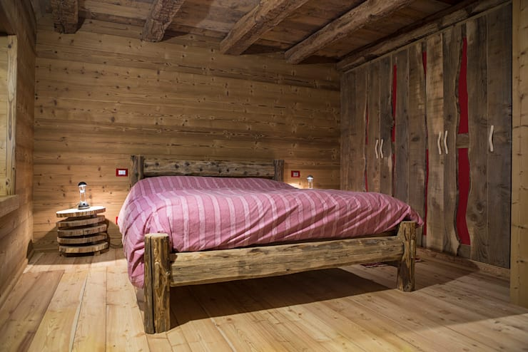 rustic Bedroom by RI-NOVO