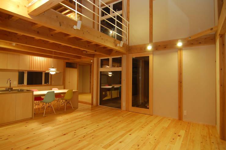 内観 モダンな 壁&床 の POTOS DESIGN OFFICE モダン