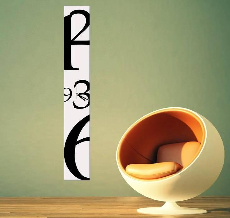 Ratolye Ahşap Tasarım Atölyesi – Tasarım Duvar Saatleri: modern tarz , Modern