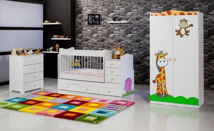 Ater Bilişim Mobilya Hizmet Teknolojileri ve Danışmanlık San. Tic. Ltd. Şti. – Fil Büyüyebilen Çocuk Odası:  tarz , Akdeniz