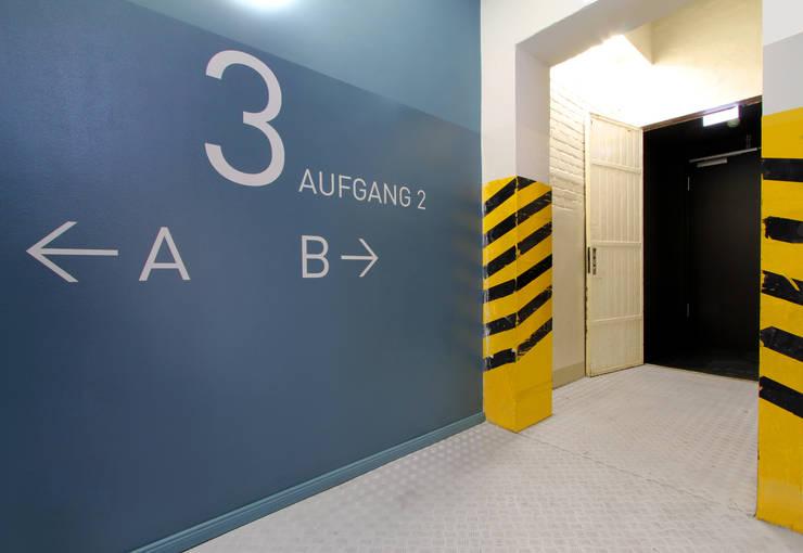 WAF Architekten:  tarz Ofis Alanları