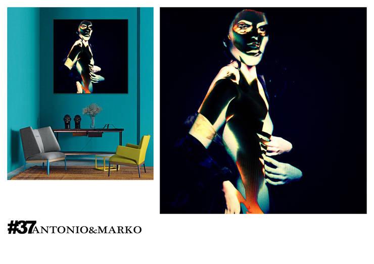 #37: Произведения искусства в . Автор – antonio&marko/interior posters
