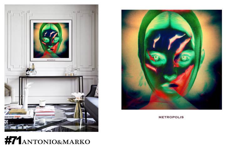 #71: Произведения искусства в . Автор – antonio&marko/interior posters