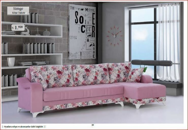 Living room by Mobitool Modüler Mobilya