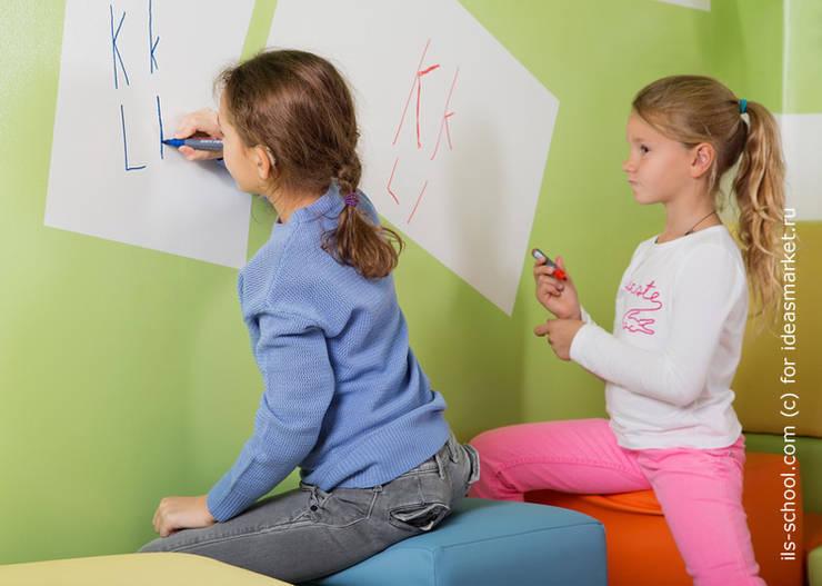 Магнитно-маркерные покрытия в Международной языковой школе: Школы и учебные заведения  в . Автор – IdeasMarket