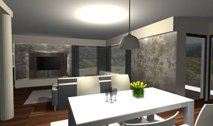 Salon : styl , w kategorii  zaprojektowany przez Ars Deko