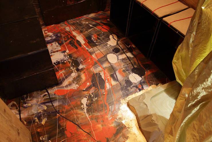 Стены и пол в . Автор – Elena Milani Arti visive e Design