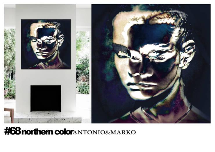 #68: Произведения искусства в . Автор – antonio&marko/interior posters