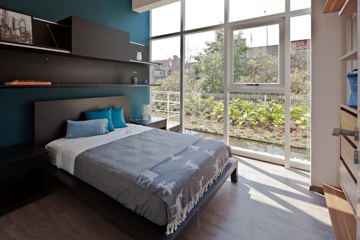 modern Bedroom by Taller David Dana