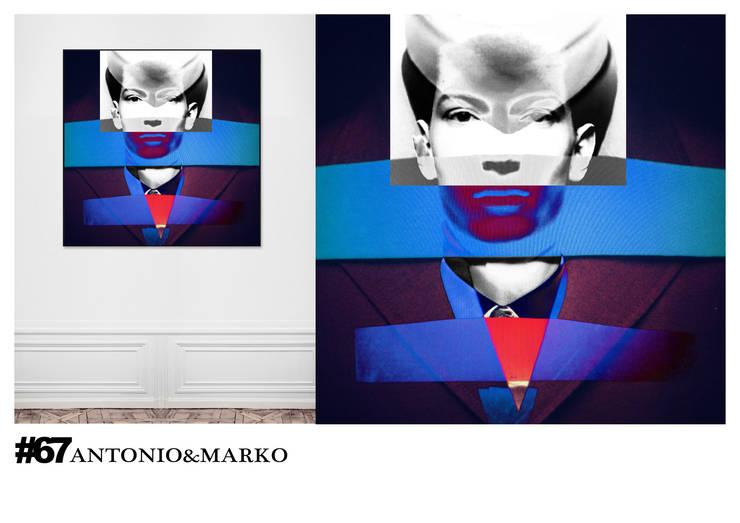 #67: Произведения искусства в . Автор – antonio&marko/interior posters