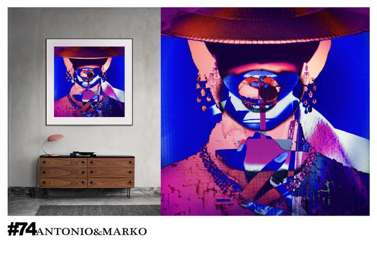 #74: Произведения искусства в . Автор – antonio&marko/interior posters