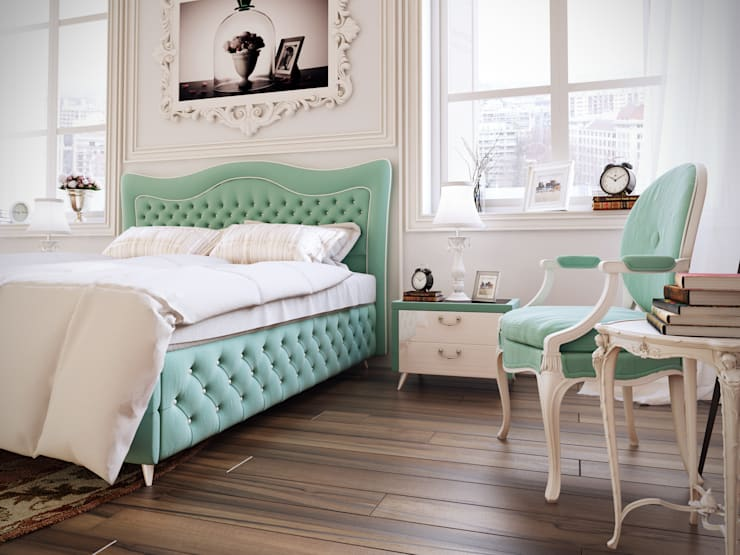 Projekty,  Sypialnia zaprojektowane przez OREL YATAK
