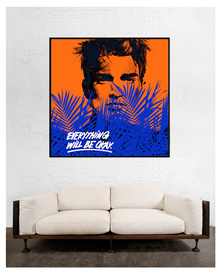 #98: Произведения искусства в . Автор – antonio&marko/interior posters