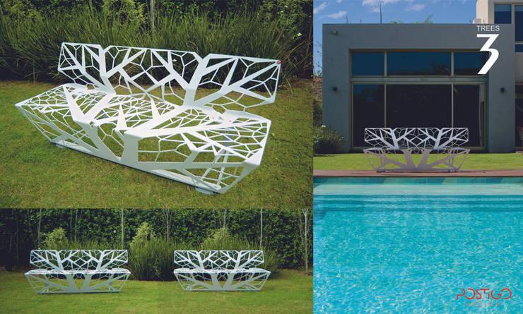 Banco 3: Jardines de estilo  por Postigo design