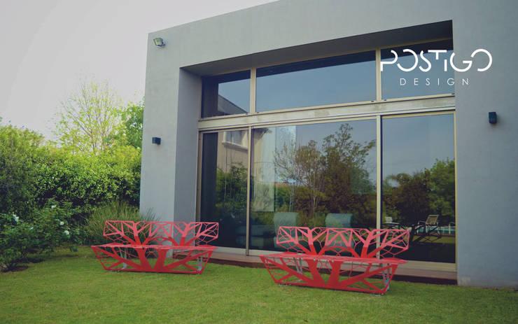 Projekty,  Ogród zaprojektowane przez Postigo design