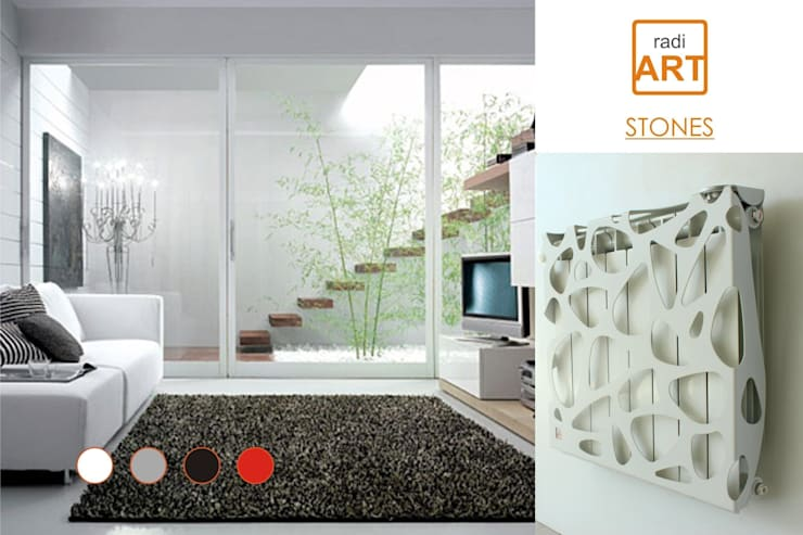 radiART modelo Stones: Livings de estilo  por Postigo design
