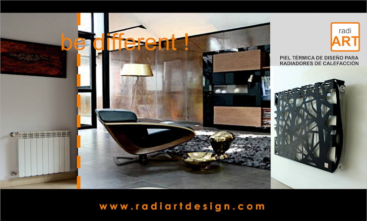 radiART modelo Trees: Livings de estilo  por Postigo design