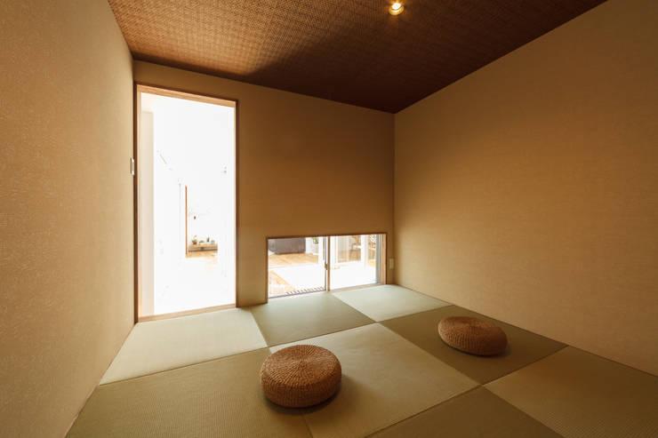 和室内観: 株式会社 T.N.Aが手掛けた和室です。