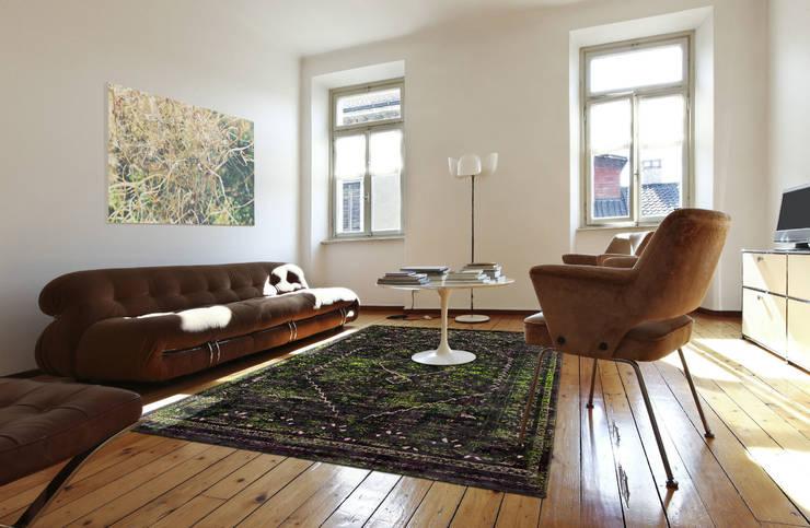 Diamonds Douglas Green Interior:  Muren & vloeren door louis de poortere