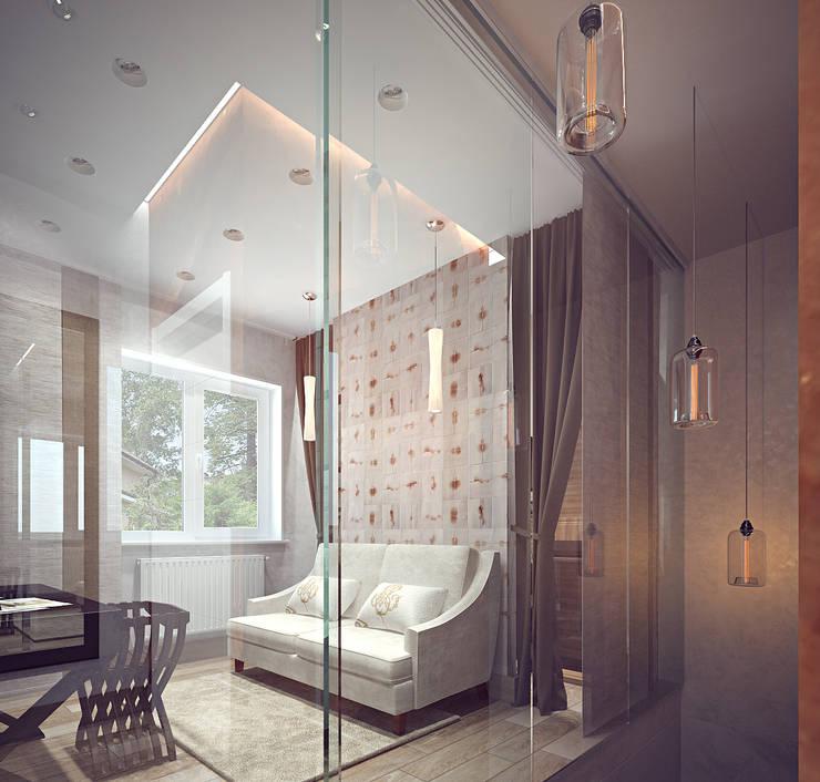 Холл второго этажа: Спальни в . Автор – Олег Елфимычев