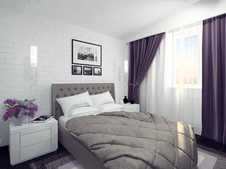 Спальня родителей: Спальни в . Автор – Олег Елфимычев