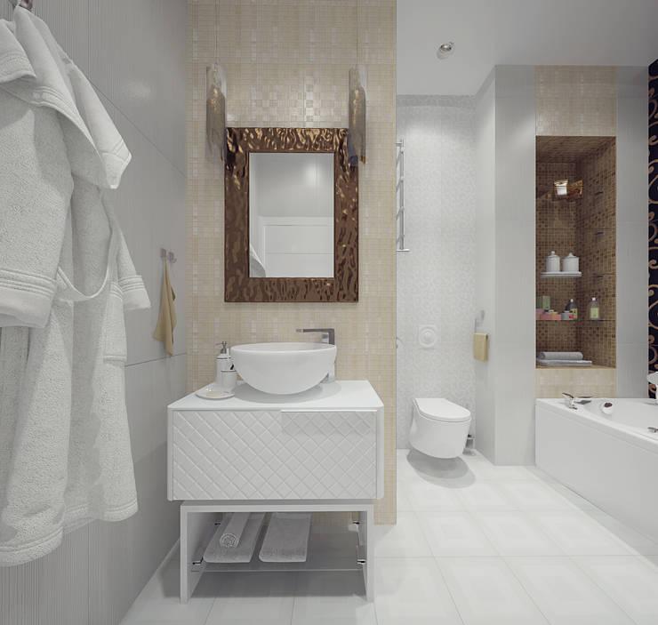 Санузел: Ванные комнаты в . Автор – Олег Елфимычев