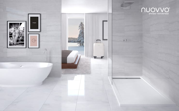 Baños de estilo minimalista por NUOVVO
