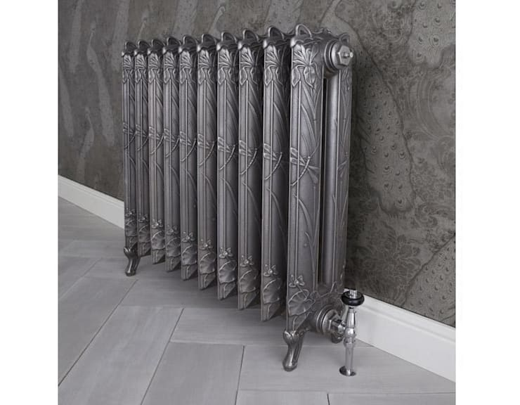 The Dragonfly Cast Iron Radiator Available at UKAA :  Bathroom by UK Architectural Antiques