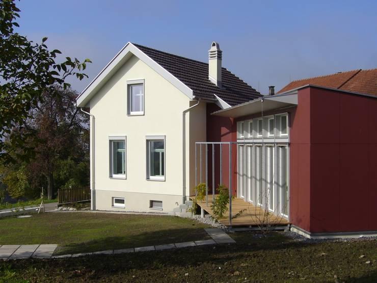 Alt und Neu:  Häuser von Mader Marti Architektur ETH SIA