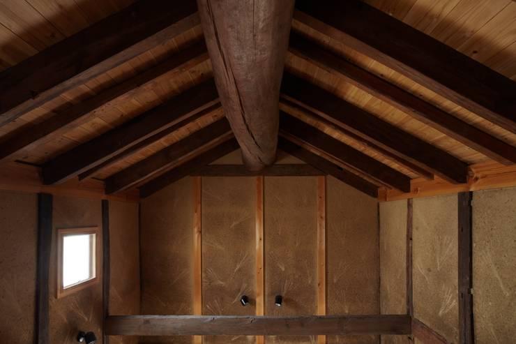ホリナンの家: 平野建築設計室が手掛けた壁です。,カントリー