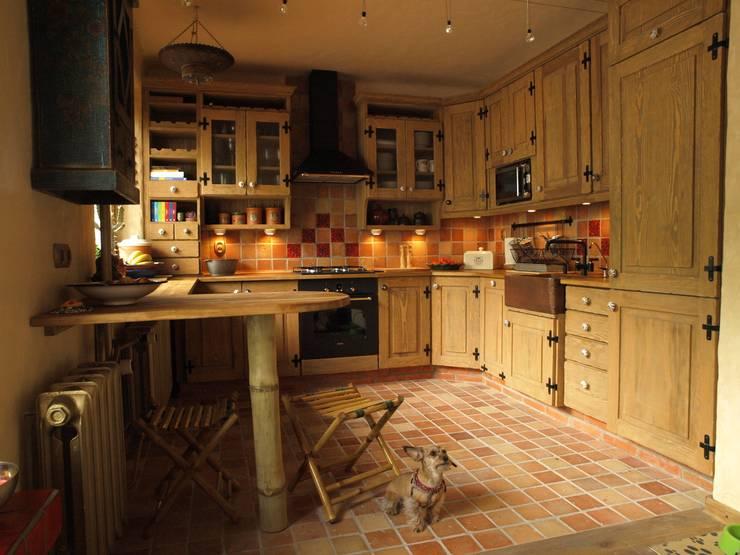 rustic Kitchen by Kamstar Krzysztof Fertała