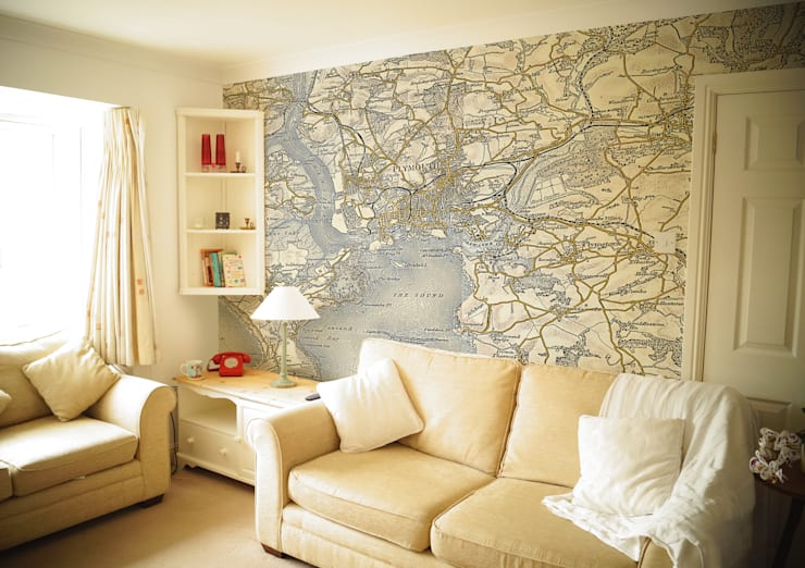 Walls & flooring by Love Maps On Ltd.