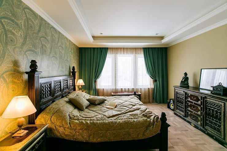غرفة نوم تنفيذ KandY design