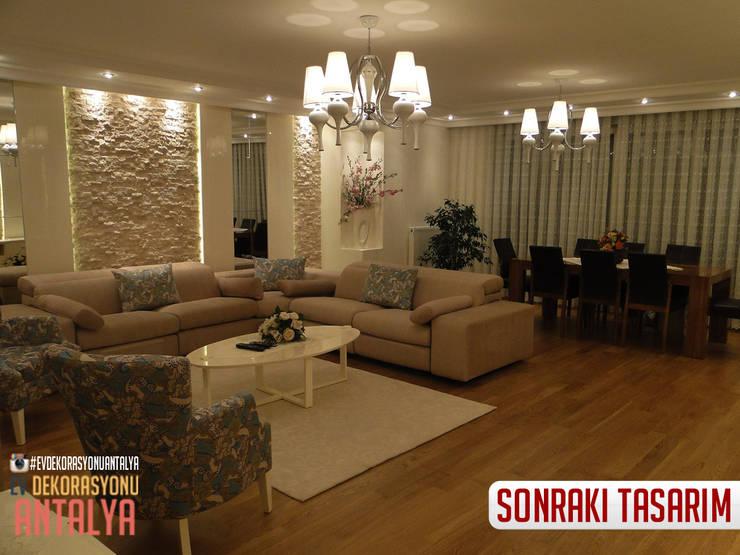 Ev Dekorasyonu Antalya – A'dan Z'ye Salon yenilememiz:  tarz Oturma Odası