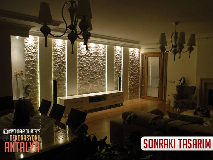 Ev Dekorasyonu Antalya – A'dan Z'ye Salon yenilememiz:  tarz İç Dekorasyon