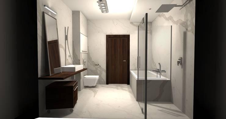 Łazienka: styl , w kategorii  zaprojektowany przez Ars Deko