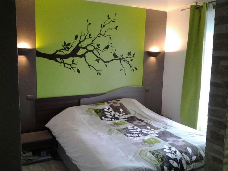 Dormitorios de estilo moderno de GC Aménagement Intérieur