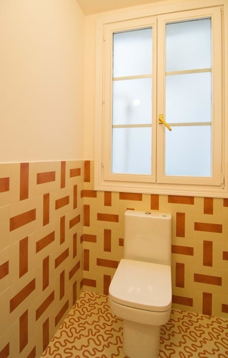 Ванные комнаты в . Автор – Apal Estudio, Средиземноморский