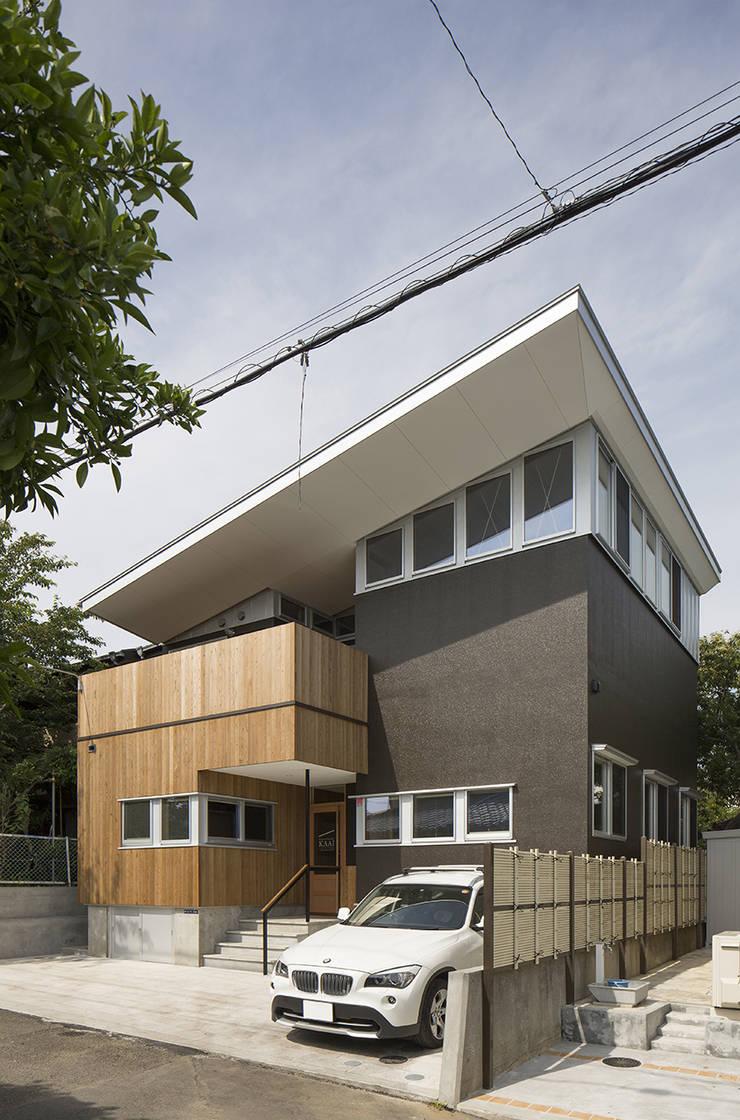 Casas de estilo  por 株式会社建楽設計, Moderno