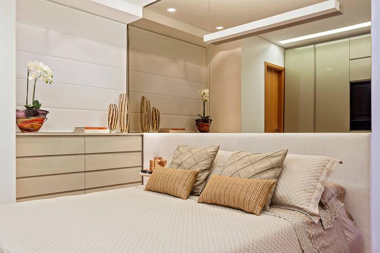 Apartamento MD: Quartos  por ÓBVIO: escritório de arquitetura