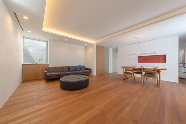 .: 長村英紀建築計画室が手掛けたリビングです。
