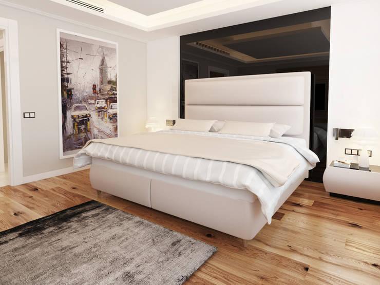 OREL YATAK – ARIA MODERN YATAK SETİ.:  tarz Yatak Odası