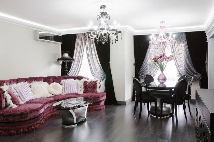 Cherry inspiration: Гостиная в . Автор – HOME Couture,