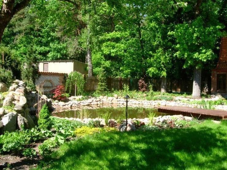 Staw ogrodowy: styl , w kategorii  zaprojektowany przez Garden Ekspert Studio Architektury Krajobrazu